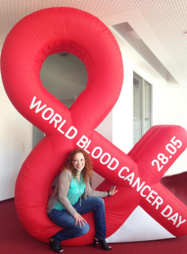 DKMS ambassador, world blood cancer day